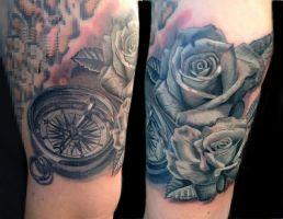 Mayer Péter Junior - Tetoválások 11