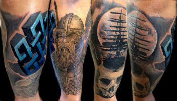 Mayer Péter Junior - Tetoválások 14