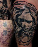 Mayer Péter Junior - Tetoválások 28