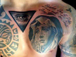 Mayer Péter Junior - Tetoválások 36