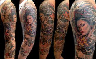 Mayer Péter Junior - Tetoválások 8